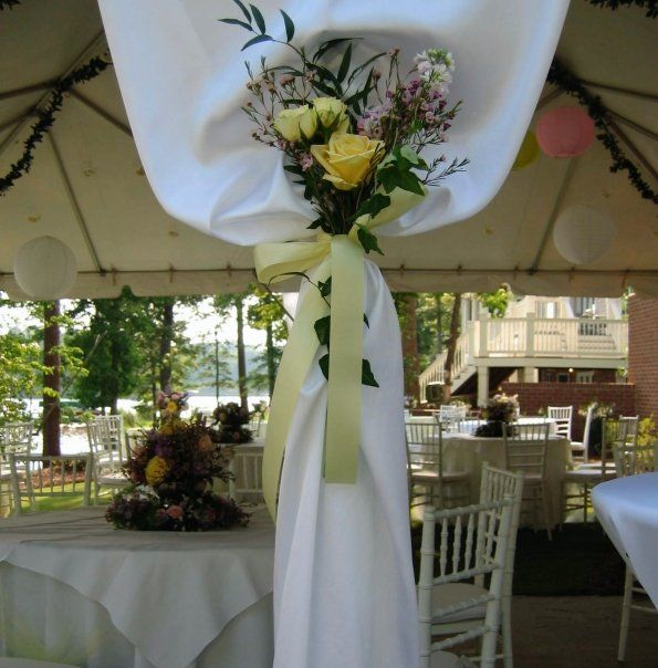 Lake Wedding Ideas: Pink And Yellow Wedding