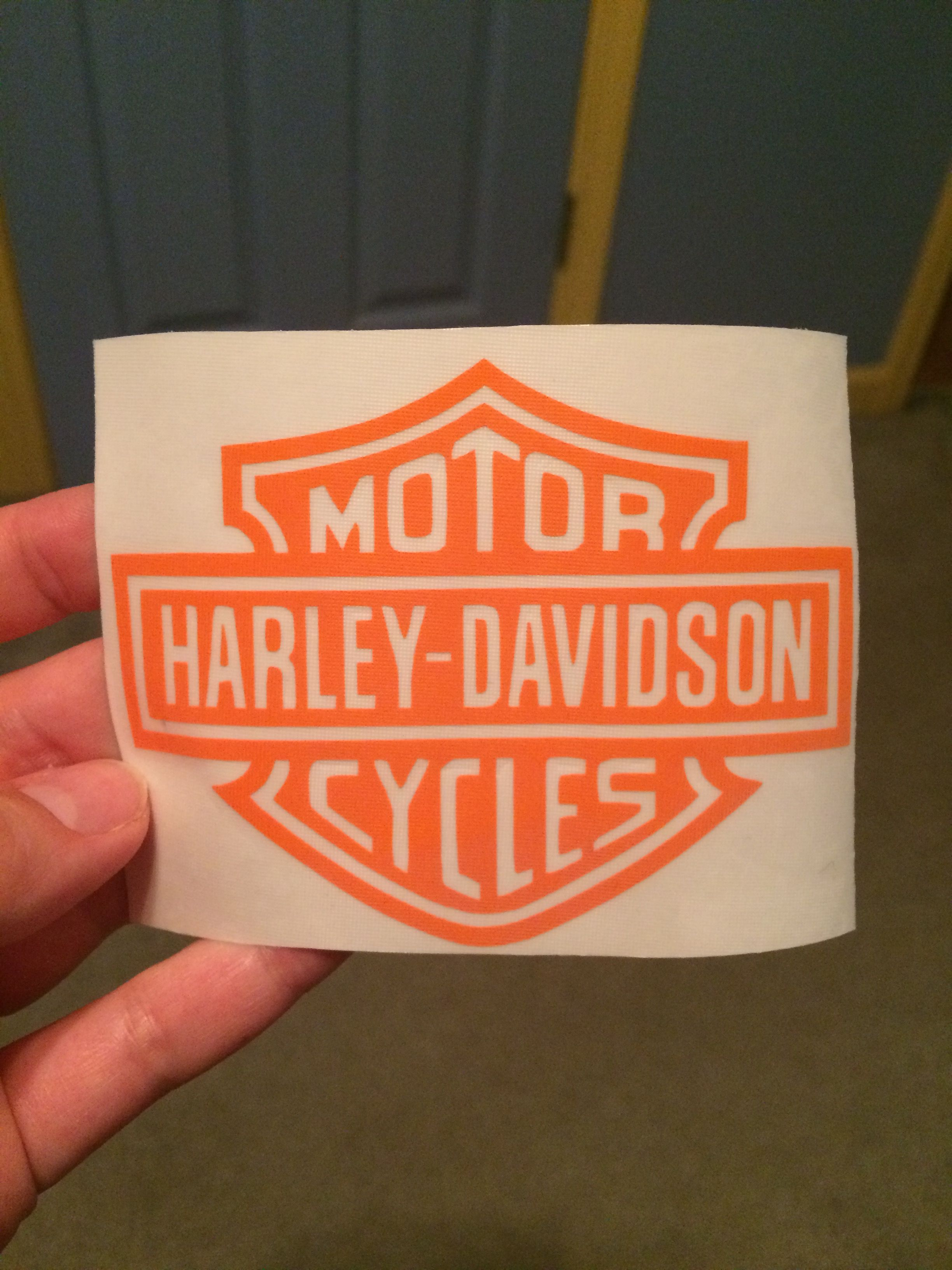 Harley Decal For Yeti Cup Made With Cricut Explore Air Cricut - How to make vinyl decals with cricut explore air