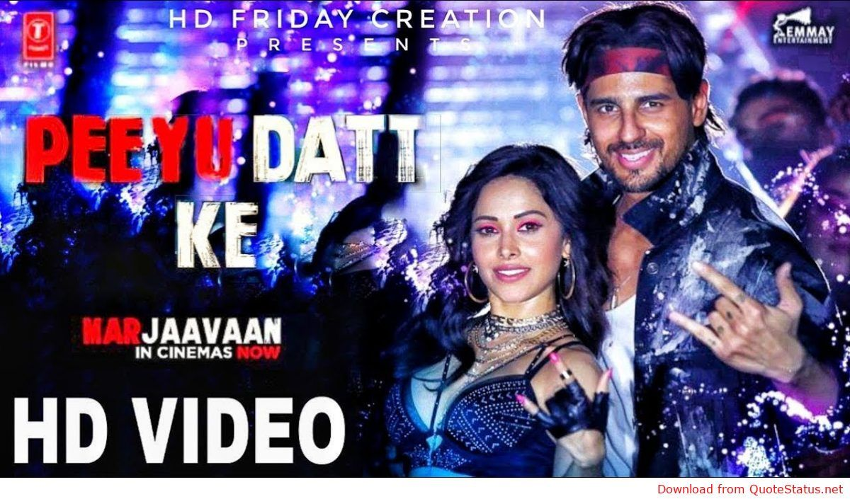 Peeyu Datt Ke Marjaavaan Yo Yo Honey Singh Song Download Video Status Mp4mp3 Song Status In Cinemas Now Mp3 Song Download