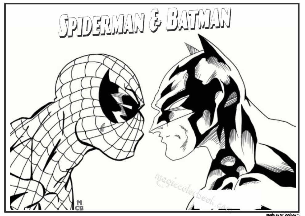 Pin by Magic Color Book on Spiderman Coloring pages free online ...