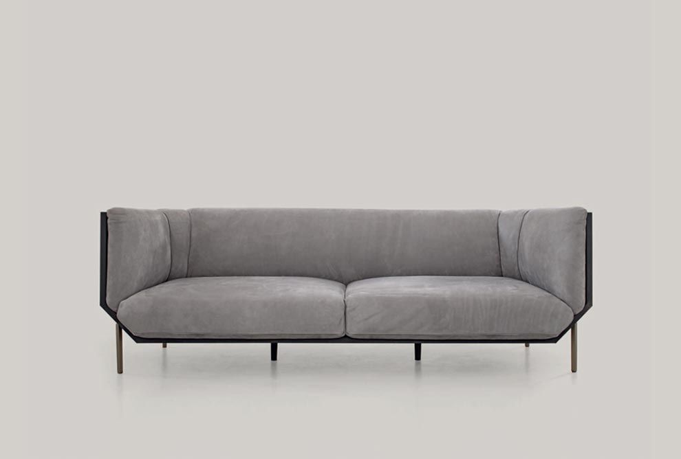 Shakedesign_Sofas_Prism sofa with arms, wooden structure in