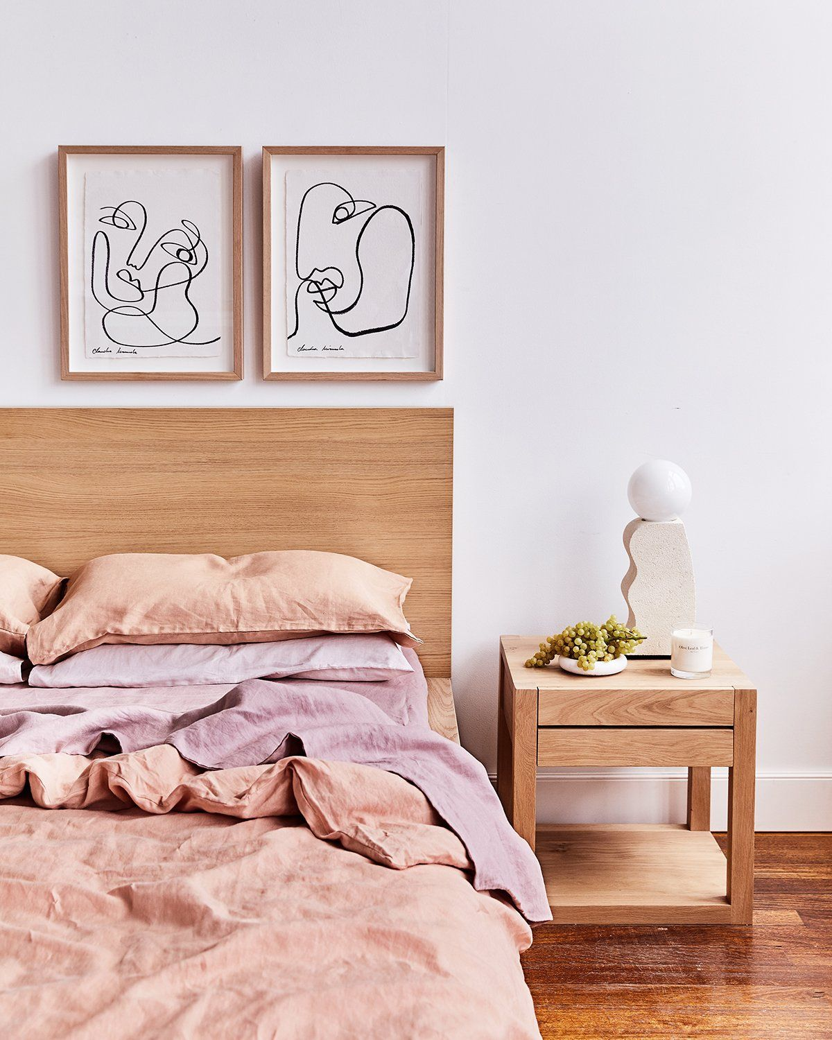 Claudia Miranda x Bed Threads 'Going With You' Print in