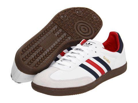 Adidas Bianca Samba ® Cuoio Originali Bianca Adidas / Fairway / Gomma Libera 5cc051