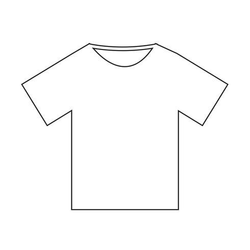 Tshirt Icon Vector Illustration Vector Illustration Vector Illustration