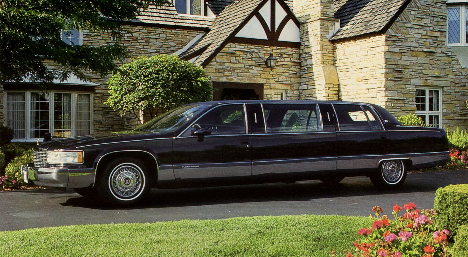 1993 cadillac fleetwood brougham limousine by limousine werks