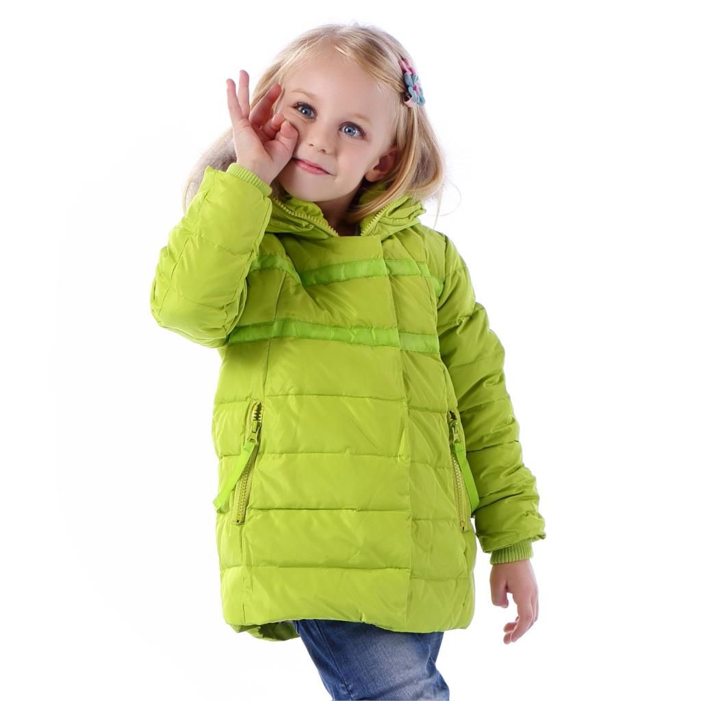 Toddler girl winter parka