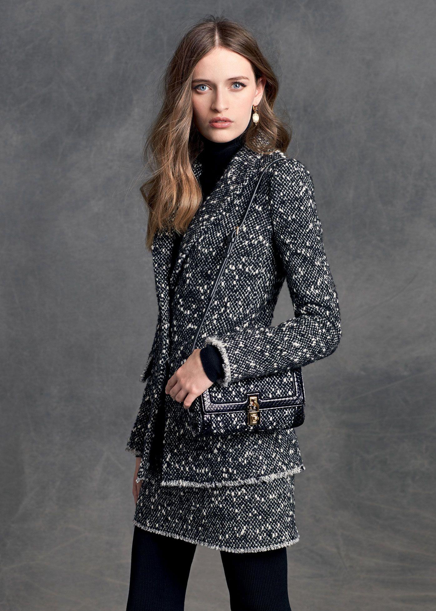 cd874070b3c5 Dolce   Gabbana Women s Clothing Collection Winter 2016