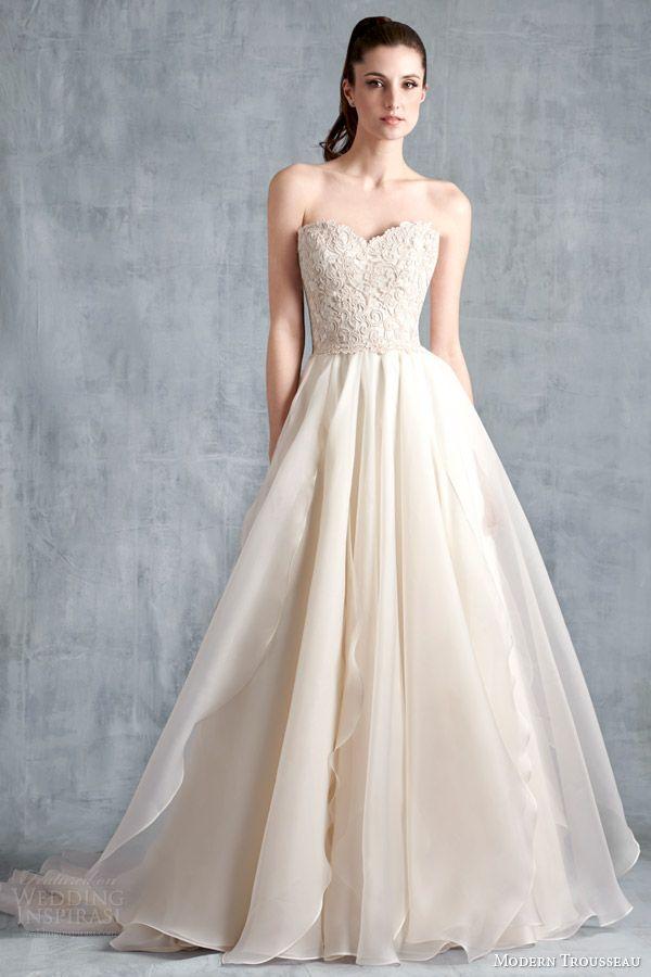 Modern Trousseau Spring 2015 Wedding Dresses | Pinterest | 2015 ...