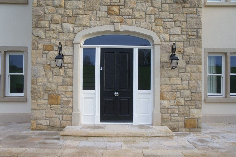 90% Donegal & 10% Omagh Sandstone with Sandstone Window ...