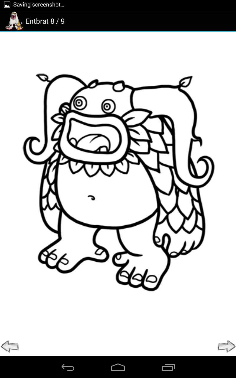 My Singing Monsters Coloring Pages  Monster coloring pages
