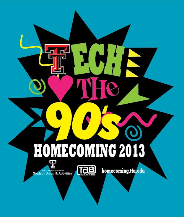 Because this year's homecoming theme is the 90's?! WELL   I
