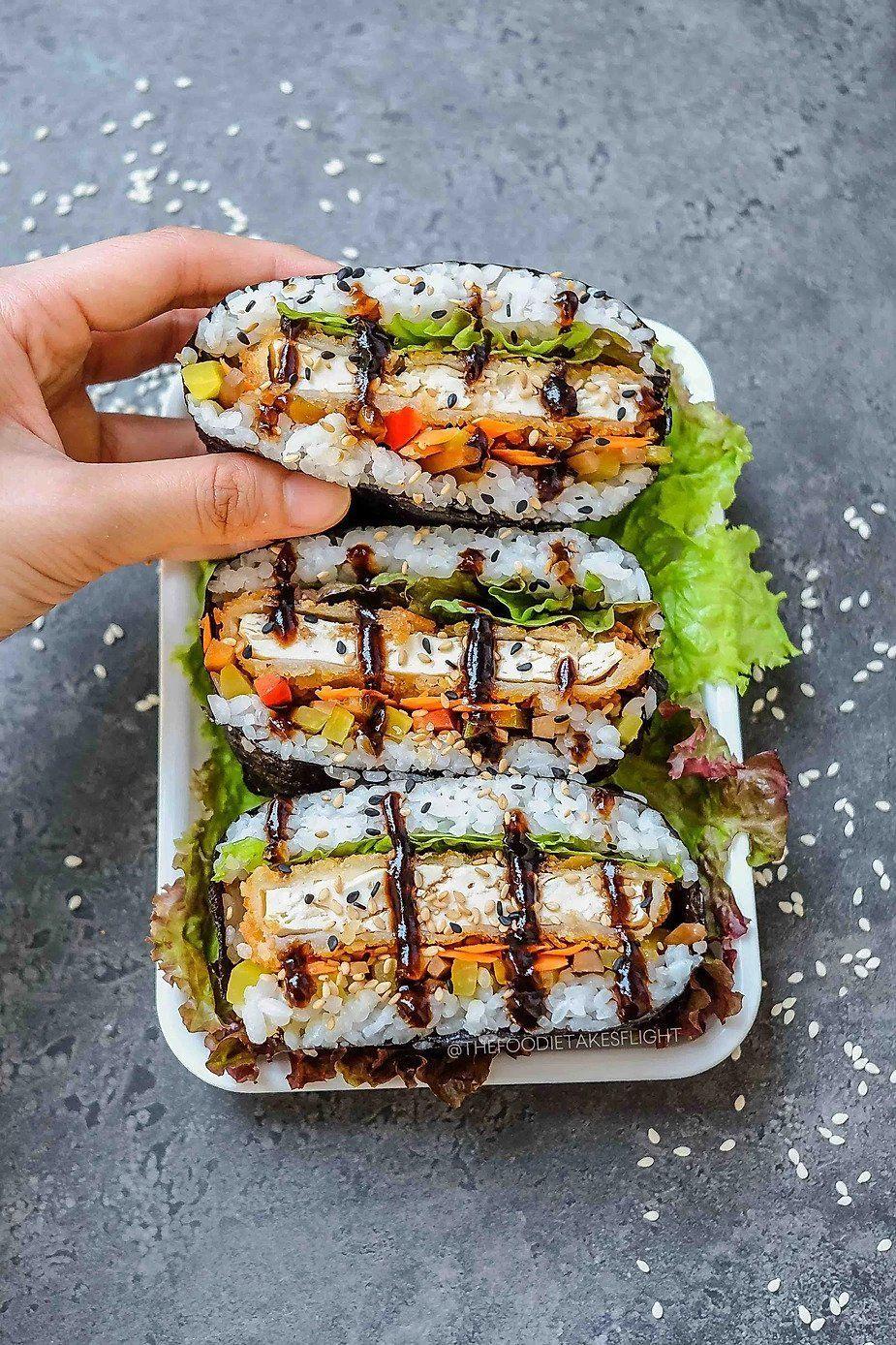17 Vegan Sushi Recipes You Should Try Making Yourself Morgan Boulevard In 2020 Sushi Sandwich Sushi Recipes Vegan Sushi
