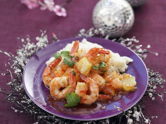 Probieren Sie die leckeren gebratenen Garnelen mit Reis von Eat Smarter oder eines unserer anderen gesunden Rezepte!