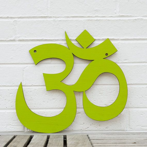 Om Sign by spunkyfluff on Etsy, $39.00 - I love this one! I already have one of her signs (Never Grow Up), and I'm getting another couple of them today because she has a SALE!!