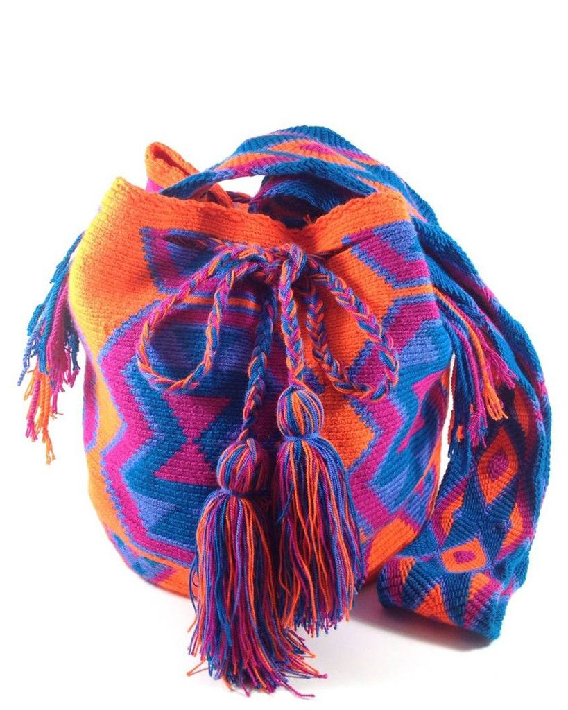 LA GUAJIRA PASSION WAYUU BAG at www.shopkokay.com #kokay #wayuubag