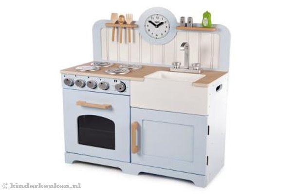 Keuken Voor Kinderen : Woodtoys country keuken kinderkeukens toy kitchen