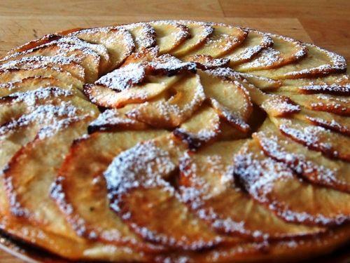 Tarta Fina De Manzanas Tarte Fine Aux Pommes Tartas Postres De Manzana Tarta De Manzana Hojaldre
