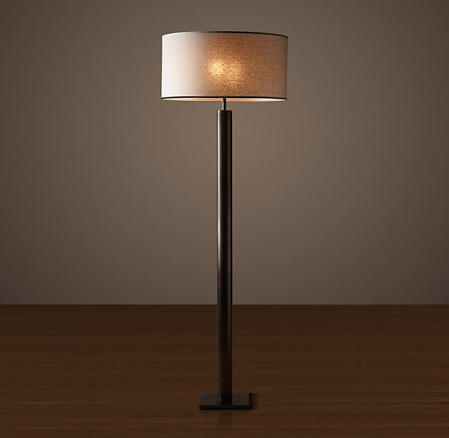 Column Floor Lamp Cylindrical Column Floor Lamp  Furniture  Pinterest  Floor Lamp