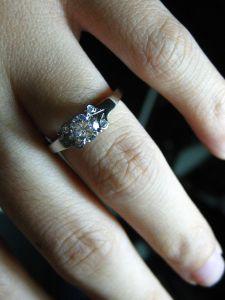 66bb58e27d308 Cartier Ballerine | Engagement | Cartier, Rings, Jewelry