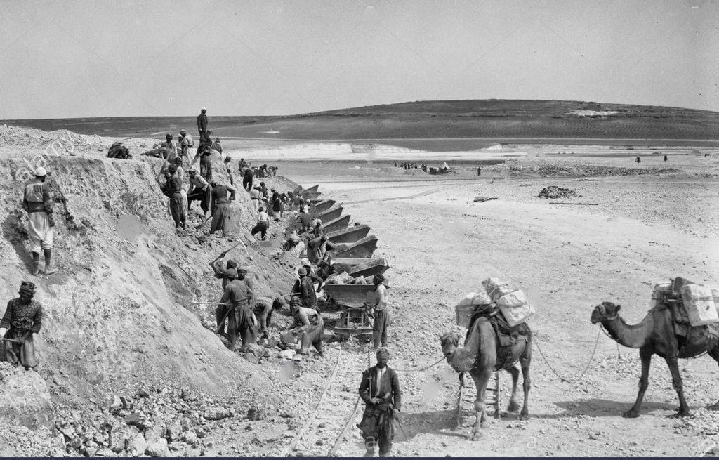 """Old Iraqi Pictures on Twitter: """"The establishment of a railway line (Baghdad - Berlin) by Germany in the Ottoman era, the picture in 1905. https://t.co/tk8sqy0VdV"""""""