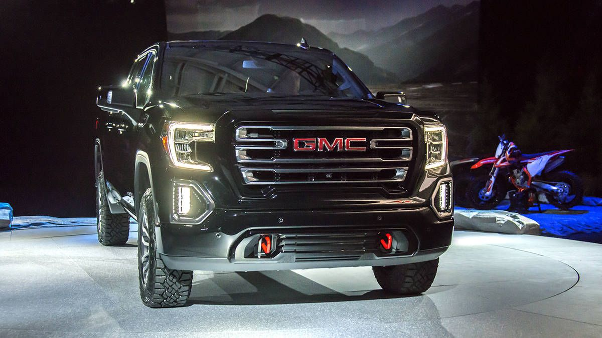 2019 Gmc Sierra At4 Gmc Launches Its Newest Luxury Off Roader Gmc Sierra Gmc Trucks