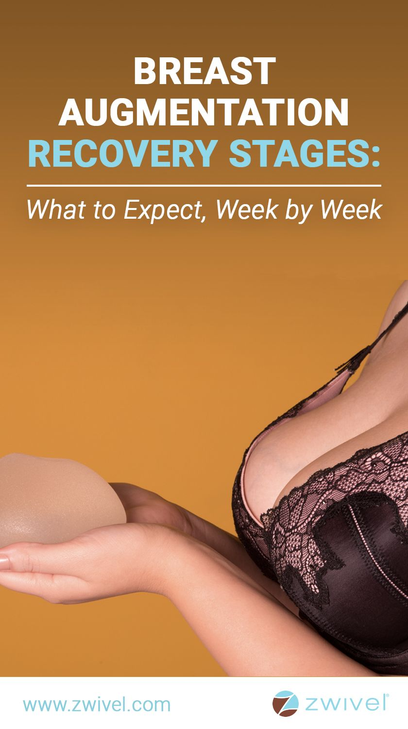 Breast Augmentation Recovery Stages What To Expect, Week