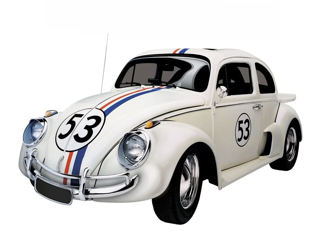 Herbie, VW Beetle has the cutest little smile in the history of cute ...