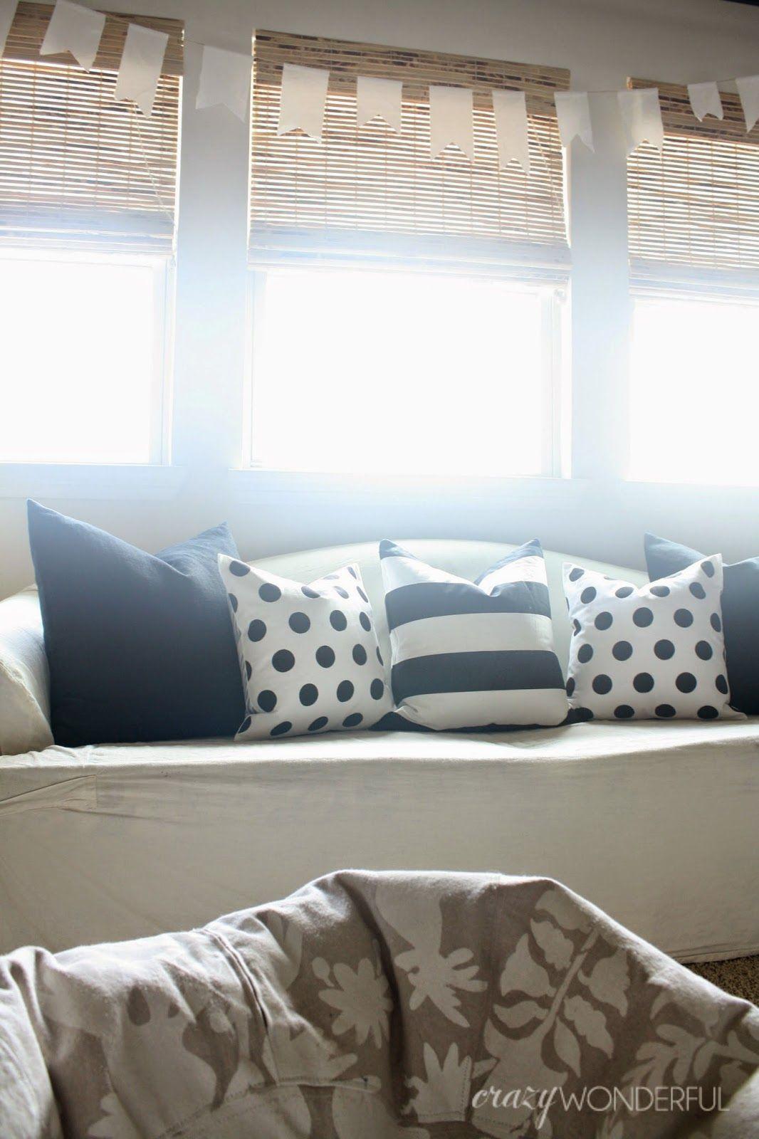 Pin On Crazy Wonderful Blog Playroom progress curtains pillow