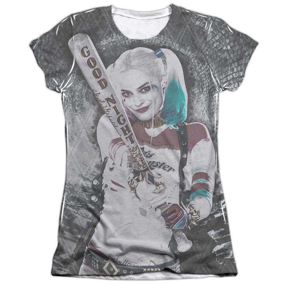 Batman Harley Quinn Wall Art Sublimated T Shirt Nouveau Officiel DC Comics