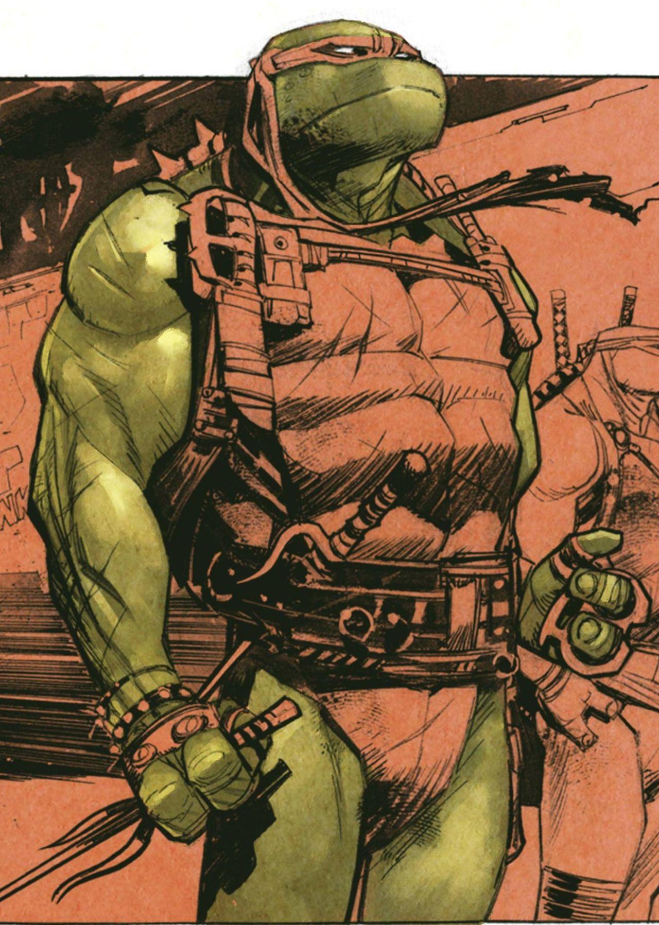 teeange mutant ninja turtles raphael by sean murphy colours by