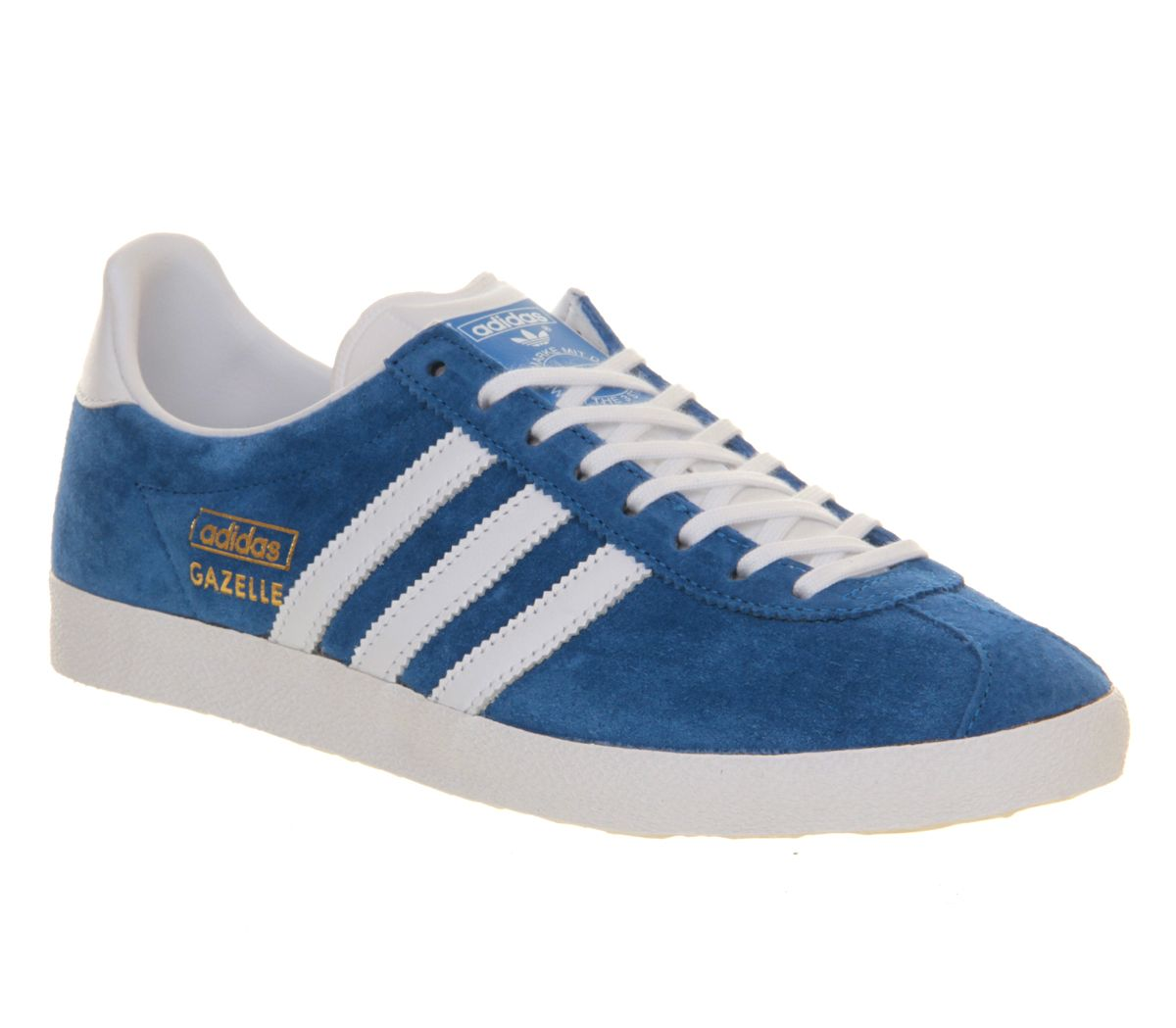 2172a862c7b279 Adidas Gazelle Og Air Force Blue White - His trainers