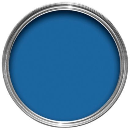 Crown Solo Interior Exterior Windsor Blue Gloss Paint 750ml Image 1