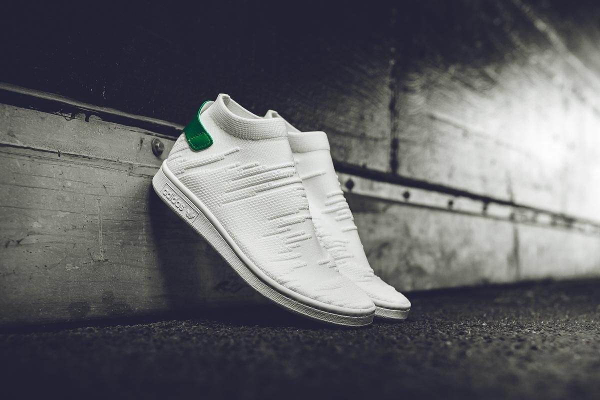 low priced 9da8b 780e3 adidas Stan Smith Sock Primeknit WMNS  White Green  - EU Kicks  Sneaker  Magazine