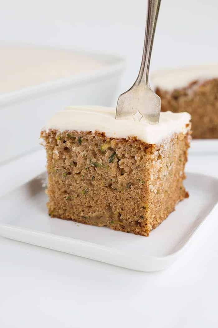 The perfect Cinnamon Zucchini Cake!