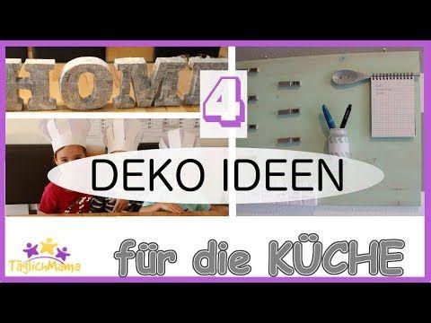 4 DEKO IDEEN für die Küche \/ Küchen Deko\/ Kitchen Decoration - dekoration f r die k che