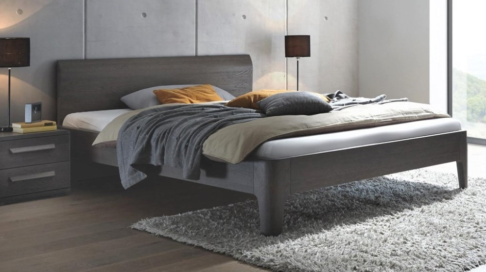 Hasena Xylo Lisio Solid Oak Modern Bed | Contemporary ...