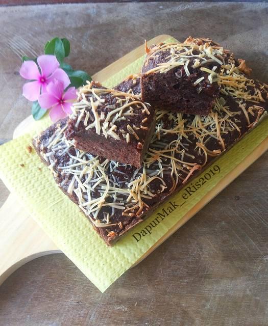 Resep Brownies Singkong Keju Oleh Linakuw Resep Keju Resep Resep Kue