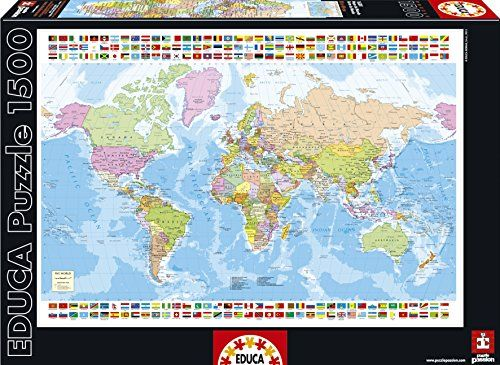 Educa 16301 world map jigsaw puzzle 1500 pieces educa httpwww educa 16301 world map jigsaw puzzle 1500 pieces educa httpwww gumiabroncs Image collections