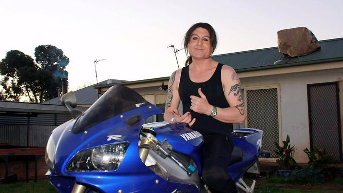 Meet the motorbike-riding truck-driving trans woman from Wagga Wagga