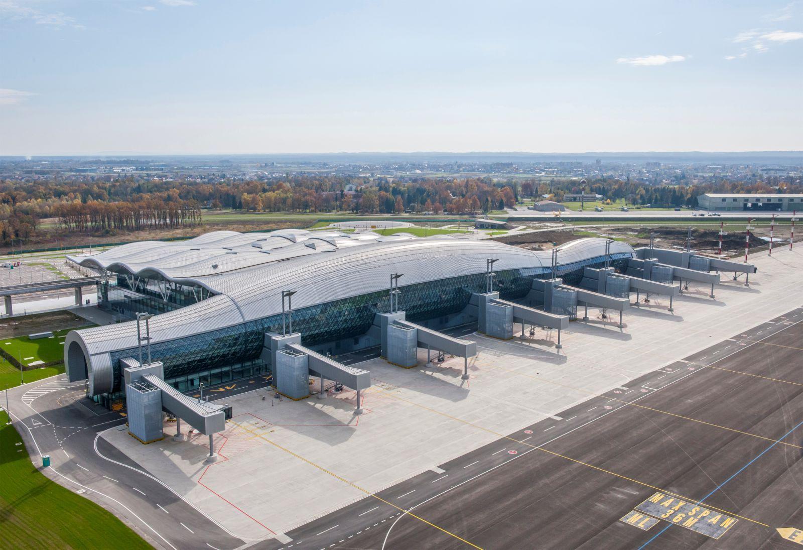 New Passenger Terminal Zagreb Airport Airport Design