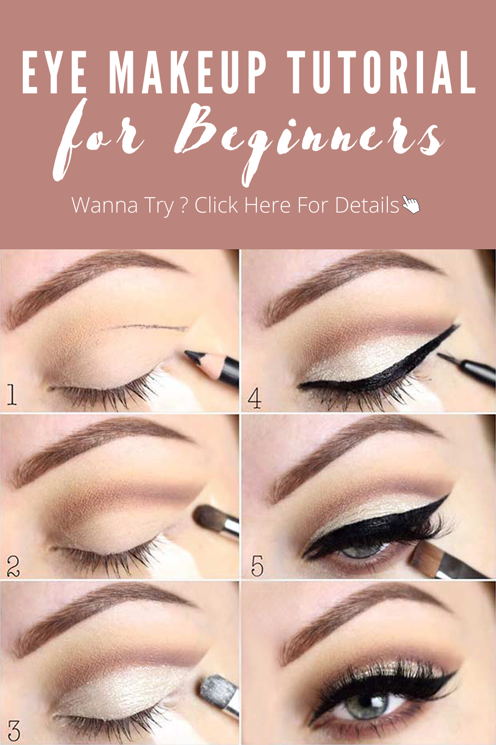 Eye Makeup Tutorial for Beginners: Makeup Like a Pro  Eye makeup