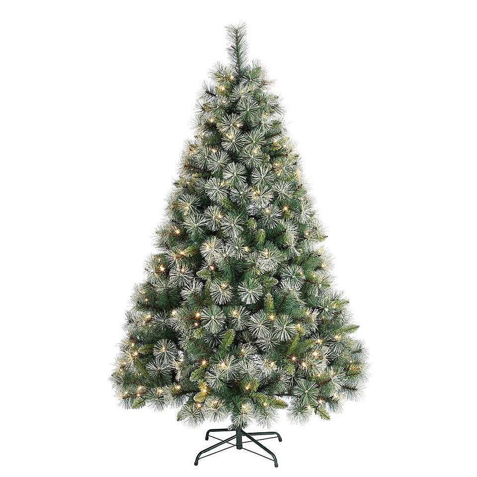 separation shoes 4e336 6f4ea 6FT Champagne Tip Christmas Tree   Dunelm   Christmas ...