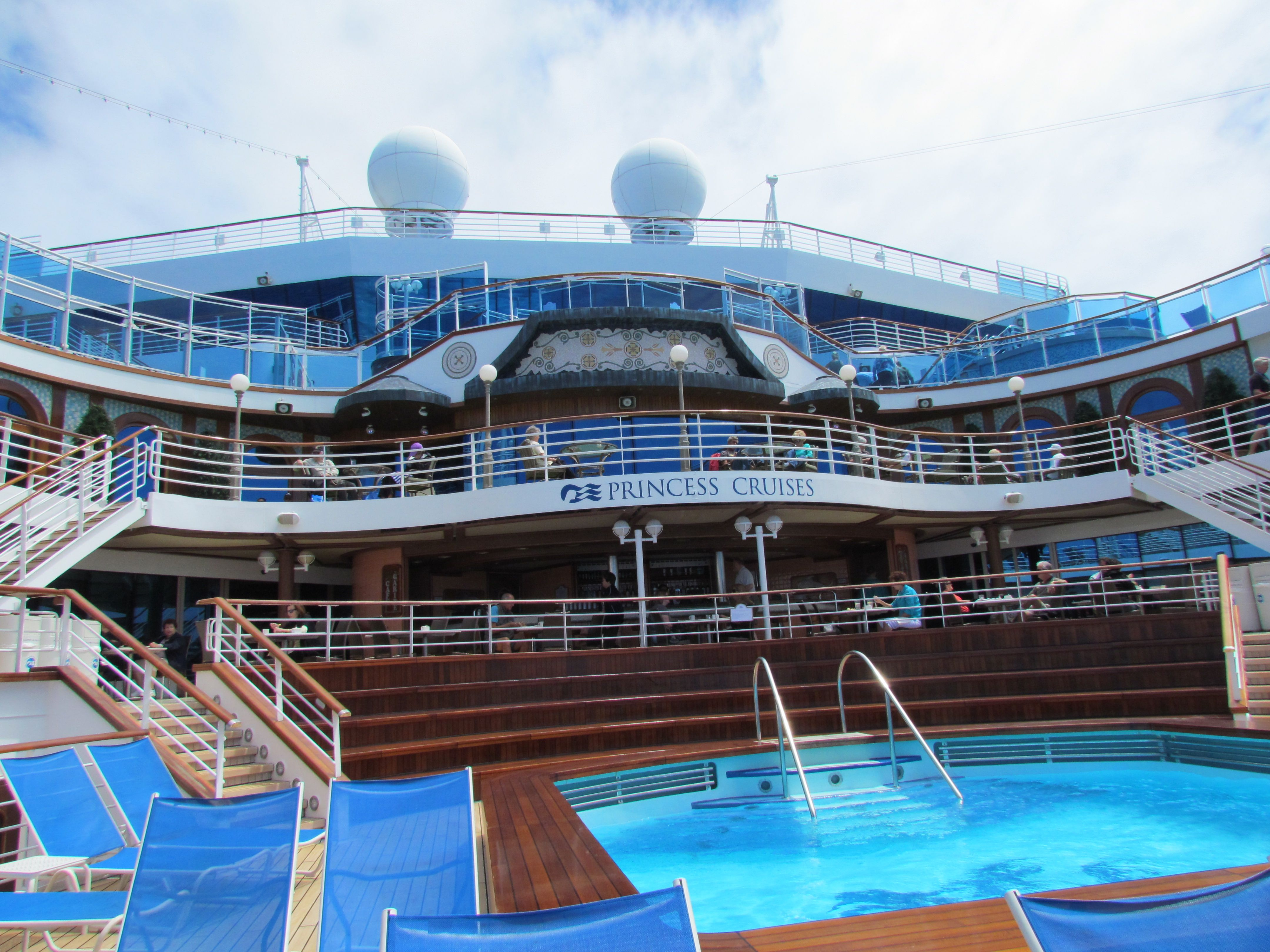 Aft Of Ship Emerald Princess Cruise Ships Pinterest - What is aft on a cruise ship
