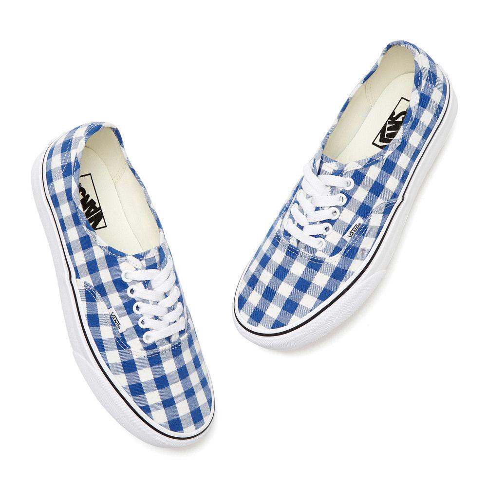 Vans Authentic Gingham Sneakers In