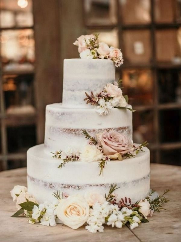 20 Rustic Country Wedding Cake Ideas