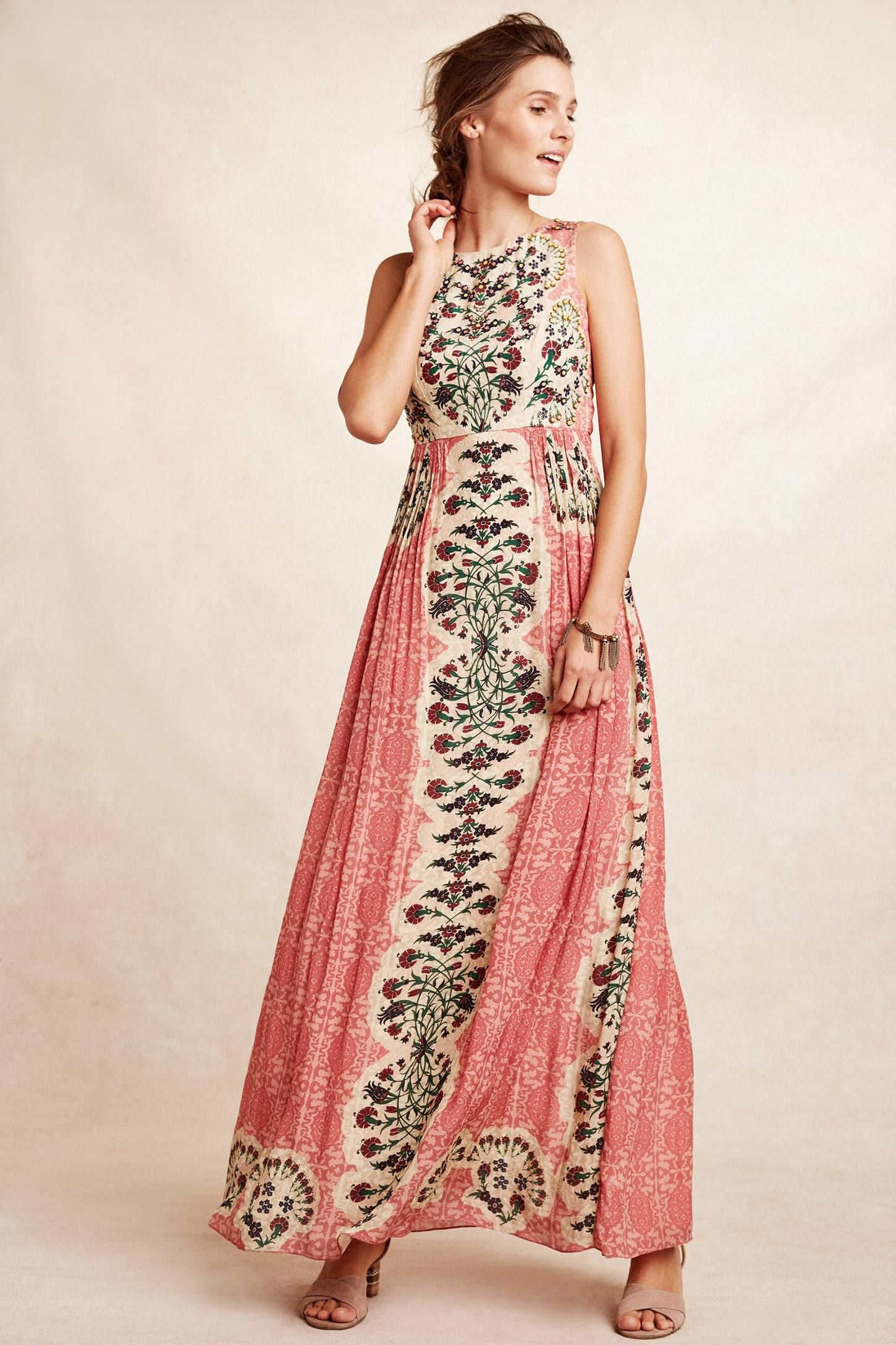 e7bb649c7f4a Shop the Botanique Maxi Dress and more Anthropologie at Anthropologie today.  Read customer reviews, discover product details and more.