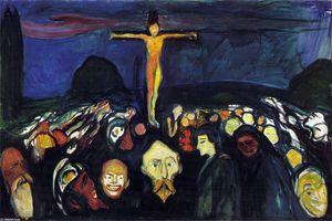 Golgotha - (Edvard Munch)