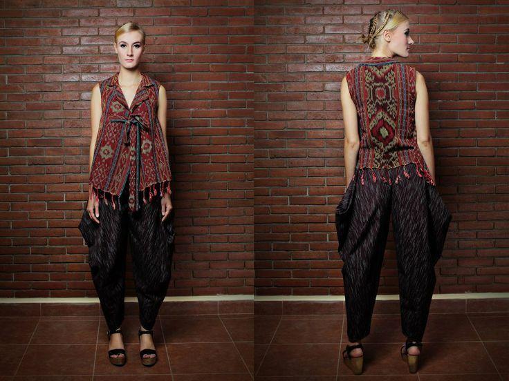 dress-batik-moder clothes idea (batik, tenun, songket, ikat - moder
