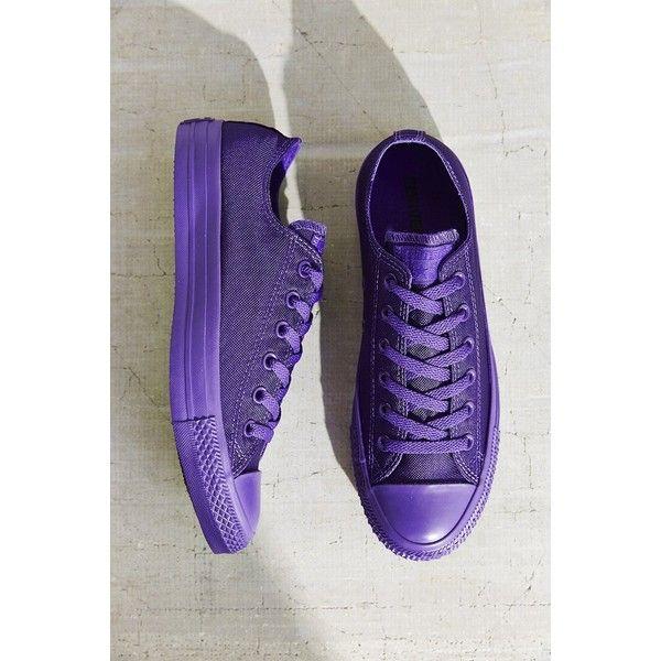 all purple converse