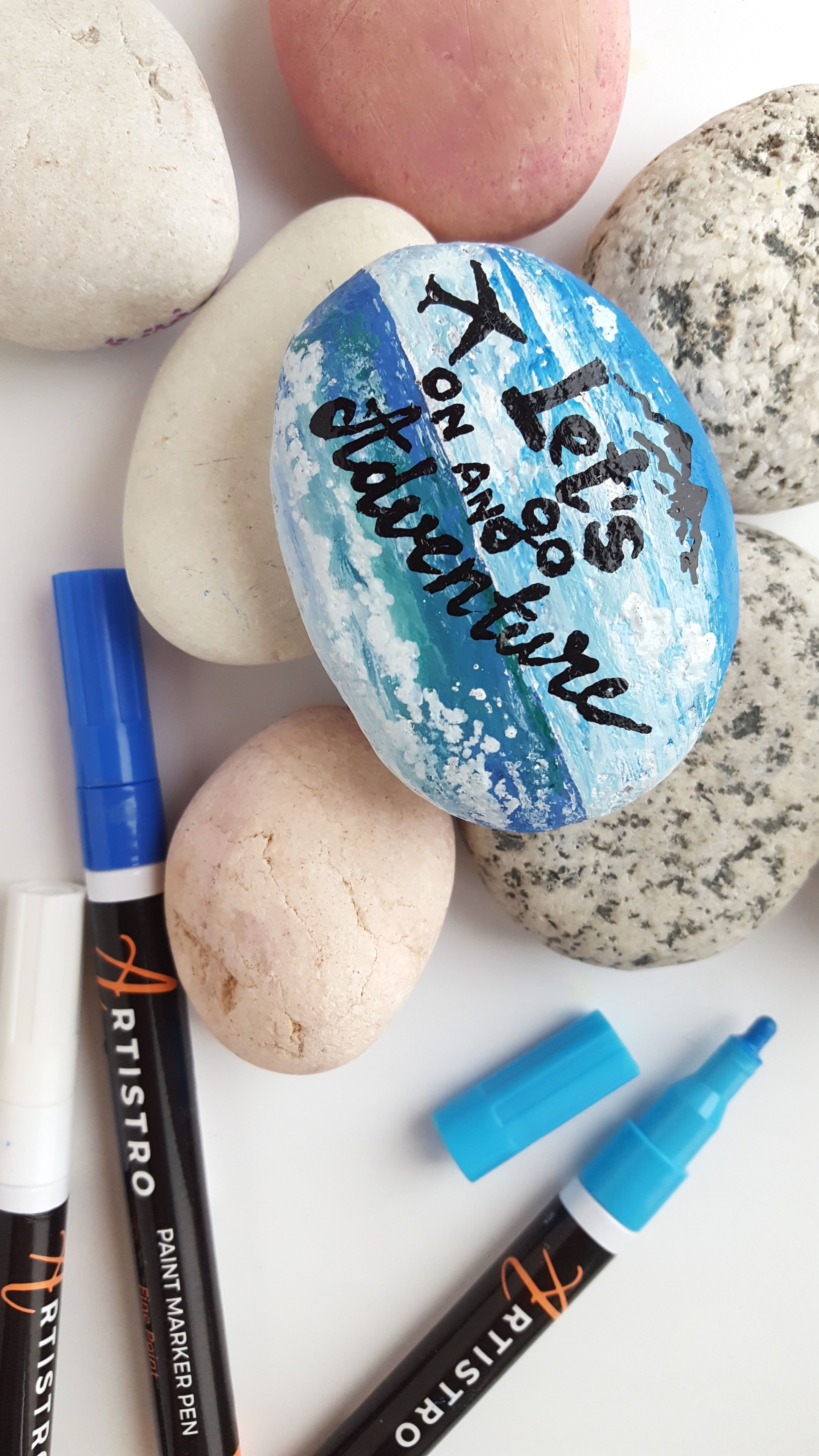 The Best Rock Painting Ideas For Beginners How To Start Rock Painting Guides From Artistro Rock Painting Suppli Paint Pens For Rocks Paint Pens Painted Rocks